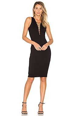 Strung Out Dress in Black