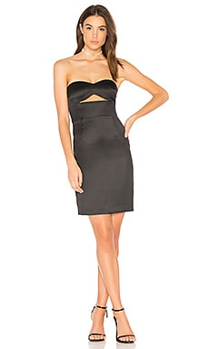 Strapless Dress in Black