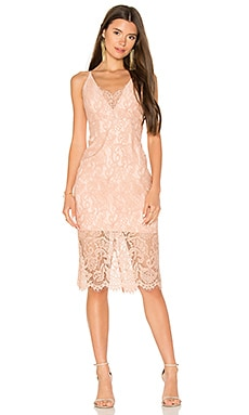 Pencil Lace Midi Dress