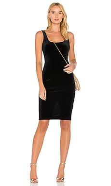X REVOLVE Velvet Midi Dress