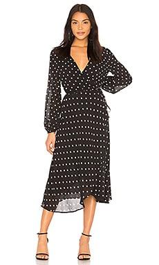 Купить Платье betty - Bardot черного цвета