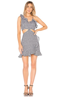 Jamie Cut Out Dress Bardot $66