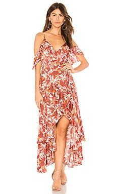 Купить Платье frankie - Bardot красного цвета