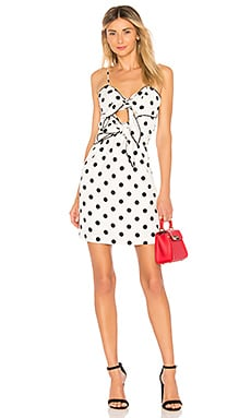 Aubrey Tie Dress Bardot $28 (FINAL SALE)
