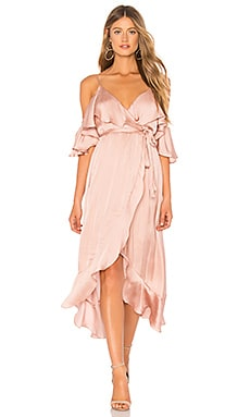 Bea Wrap Dress Bardot $109