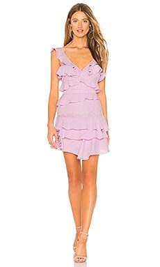 Купить Платье babylon - Bardot, Мини, Китай, Фиолетовый