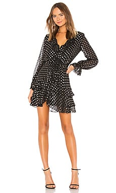 Spot Shirt Dress Bardot $109