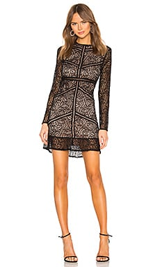 Sasha Lace Dress Bardot $119