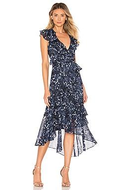 Romance Frill Dress Bardot $149