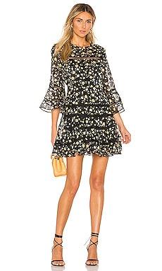 Poppy Trim Dress Bardot $129