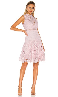 Elise Lace Dress Bardot $78