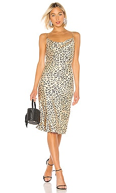 Leopard Slip Dress Bardot $99