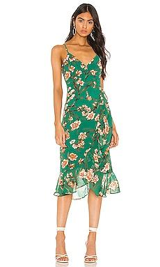 Malika Dress Bardot $109