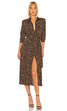 Leopard Shirt Dress Bardot $119 BEST SELLER