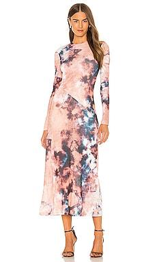 Tie Dye Dress Bardot $89