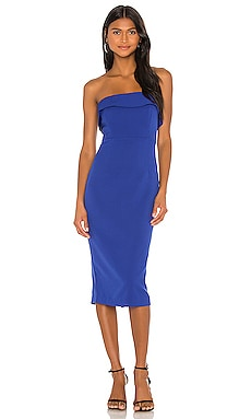 Zorianna Midi Dress Bardot $109 NEW ARRIVAL