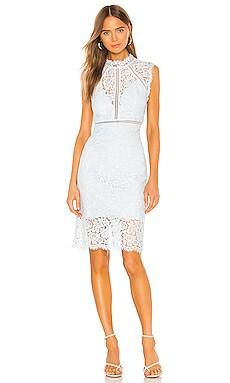 Мини платье lace panel - Bardot Миди фото