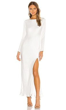 River Bias Dress Bardot $129
