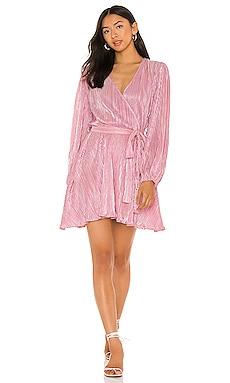 Bellissa Pleat Dress Bardot $97