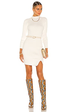 Mini Rib Knit Dress Bardot $99 BEST SELLER