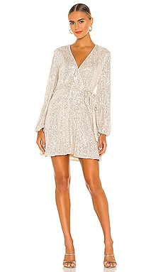 Sequin Belilissa Dress Bardot $159