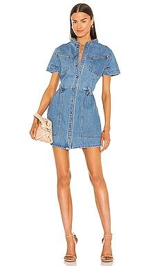 Stacey Denim Dress Bardot $139
