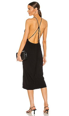 Backless Slinky Dress Bardot $109 Sustainable