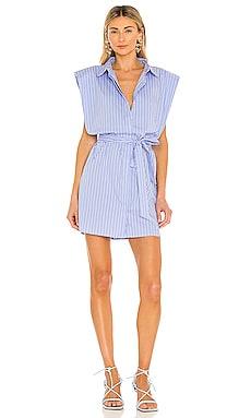 STRIPE シャツドレス Bardot $109 サステナブル