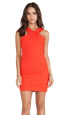 Bardot Ruby Panel Dress in Sunkissed