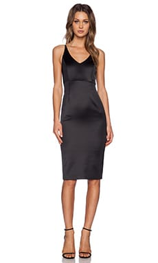 Bardot Bodycon Dress in Black