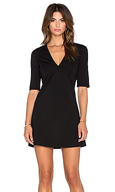 Zouisa A-Line Dress in Black