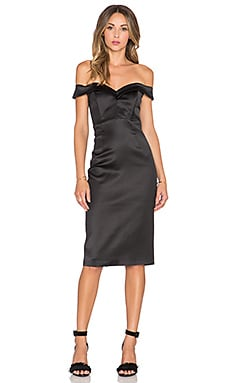 Bardot Date Night Dress in Black