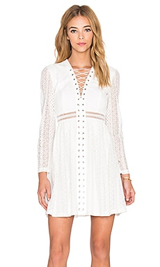Bardot Gigi Dress in Ivory