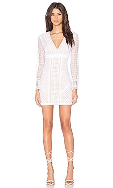 Bardot Lidia Lace Dress in Ivory