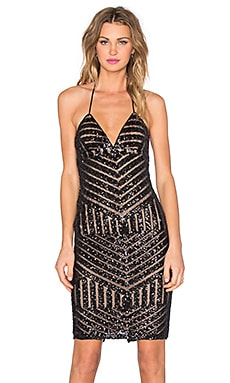 Bardot Shanina Sequin Dress in Black
