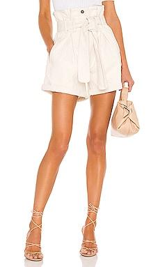 Paperbag Denim Short Bardot $89