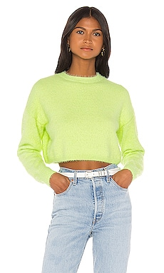 Cropped Fluffy Knit Bardot $29 (FINAL SALE)
