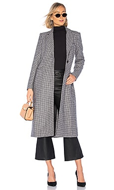 Check Coat Bardot $79