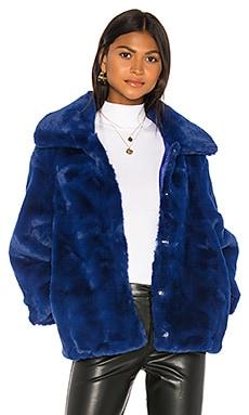 Pia Faux Fur Bomber Bardot $50 (FINAL SALE)