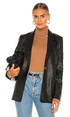 PU Blazer Bardot $139 NEW