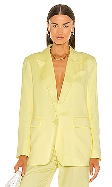 Summer Linen Blazer Bardot $169 Sustainable