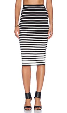 Bardot Graduated Stripe Skirt in Stripe