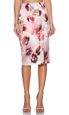 Bardot Blossum Split Skirt in Multi