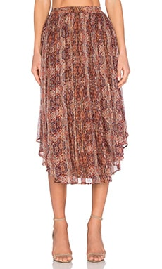 Moroccan Tile Skirt in Tapestry Print