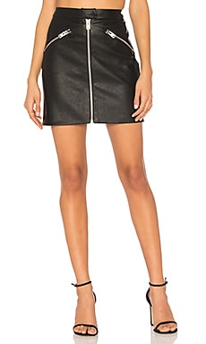 Biker Skirt in Black