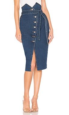 Kyla Denim Skirt Bardot $89