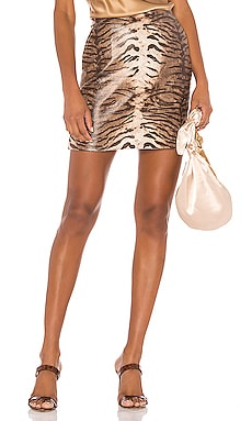 Alexis Animal Skirt Bardot $30 (FINAL SALE)