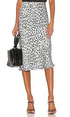 Mayah Leopard Skirt Bardot $68 BEST SELLER