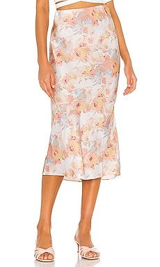Kendal Bias Skirt Bardot $41