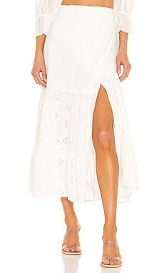 Broderie Skirt Bardot $129 Sustainable
